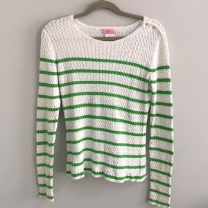 Striped Lilly Pulitzer sweater
